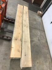 Birch Fireplace Mantel Beam Rustic Rough Cut Solid Log Wood Shelf