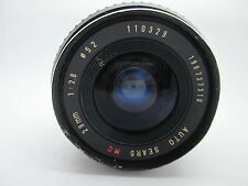Sears 28mm f/2.8 Auto Camera Lens For Pentax K Mount