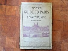 Rare Cook's Guide to Paris World International Exhibition 1878 w/ Maps - France