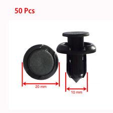 """50X Plastic Fender Rivet Clips 10mm 0.39"""" Hood Fastener for Honda Acura Auveco"""
