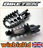 Kawasaki KX250F 2006-2020 [Biketek Gunmetal Motocross MX Forgé Large Repose]