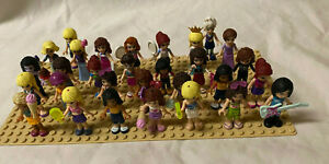 Lot of 30 Friends Lego Minifigures