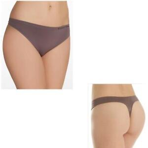 Calvin Klein Pure Seamless Thong QD3544 Choose Size & Color NWT