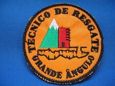 PORTUGAL PORTUGUESE TECNICO DE RESGATE GRANDE ANGULO TECHNICAL RESCUE PATCH