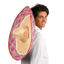 NEU Sombrero Enrique mit Stickerei, Mosaikmuster