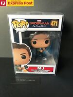 MARVEL SPIDER-MAN FAR FROM HOME MJ FUNKO POP BOBBLE-HEAD VINYL FIGURE #471 - NEW