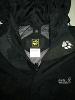 "Jack Wolfskin Texapore ""M"" Black Hooded Mens Jacket"