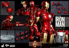 Marvel Hot Toys 1/6 Scale Iron Man Mark III 3 Diecast MMS256D07 Special Edition