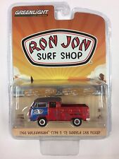 2017 GREENLIGHT RON JON SURF SHOP 1968 VW TYPE 2 T2 PICKUP SERIES 4