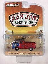 2017 GREENLIGHT RON JON SURF SHOP 1968 VW TYPE 2 T2 PICKUP SERIES 4
