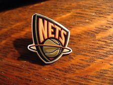 New Jersey Nets Lapel Pin - Vintage New York Brooklyn NBA Basketball Team Player