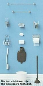 Dollhouse Miniature Bathroom Accessories Mini-Kit by Chrysnbon