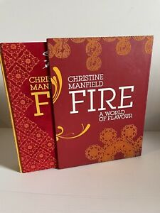 Fire A World of Flavour Christine Manfield Hardcoverwith Slipcase Free Post
