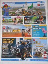 Lego Store Newsletter August 2013
