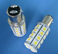 10pcs BA15D 1142 White LED bulb Boat Marine lights 30-5050SMD AC/DC12~24V 400LM