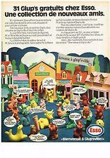 PUBLICITE  1972    ESSO  bienvenue à GLUP'SVILLE