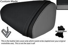 BLACK & GREY CUSTOM FITS KAWASAKI 08-10 ZX10 R NINJA 1000 REAR SEAT COVER