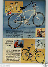 1972 PAPER AD Bike Iverson Dragster Banana Seat Roadrunner Remco Scree-mees