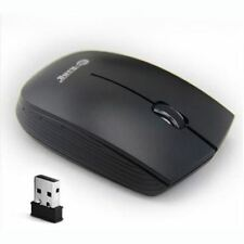 Generic 2.4GHz Mini Fast 1500D Mice Game Wireless Optical Mouse PC Laptop Black