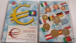 2007 IRLANDA 8 monete EURO fdc irlande irland ireland