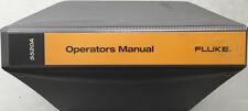 Fluke 5520A Multi-Product Calibrator Operators Manual P/N 688739