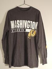 Men's NFL Team Apparel Washington REDSKINS Long Sleeve T Shirt Size Small NWOT