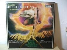 SET 362 3 HAYDN Die Schopfung MUNCHINGER VIENNA DECCA WBG STEREO 2LP BOX NM
