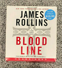 Blood Line by James Rollins - Audiobook on CD (Unabridged - 13 Discs)