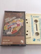1981 The Sound Compilation Cassette Ac/dc Dire Staits Etc