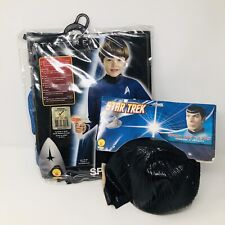 Rubies Star Trek SPOCK Halloween Costume Wig/Ears Childs Medium 8-10