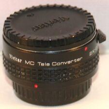 Vivitar MC Tele Converter Lens 2X-22 PK fitting