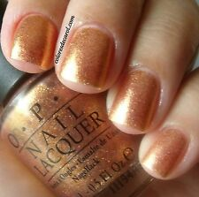 NEW! OPI NAIL POLISH Nail Lacquer in PROS & BRONZE ~ Bronze Gold Copper Pink