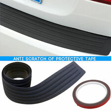 Car Auto Rear Bumper Sill / Protector Plate Rubber Cover Guard Pad Moulding Trim