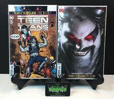 TEEN TITANS #32 COVERS A & B VARIANT NM 1ST PRINT YEAR OF THE VILLIAN LOBO