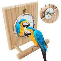 Bird Toy Bird Perch Stand Bar Bird Mirror Parrot Stand Stick Swing Ladder Bird P
