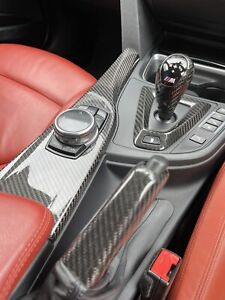 BMW Carbon Fibre Interior Gear Knob &Hand Brake&Surround RHD X5M F86 X6M F12 F13