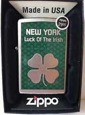 Zippo Collectible Lighter New York Luck of the Irish