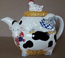 Unique Porcelain Otagir Japan Cow Lamb Chicken Tea Pot