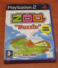 JEU SONY PS 2    zoo puzzle  neuf   vf
