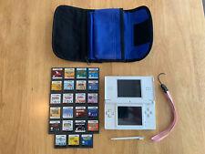 Nintendo DS Lite Polar White Bundle (23 Games)