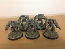 Warhammer 40k Terminator Assault Squad Unpainted Converted Legion Of The Damned