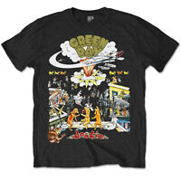 Green Day T Shirt 1994 Dookie Tour Official Black Mens Unisex Tee NEW Punk Rock