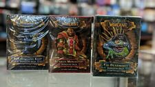 World of Warcraft Dungeon Decks Set of 3 Sealed English