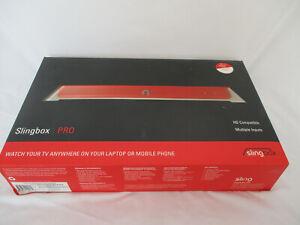 Slingbox Pro SB200-100 Red New Open Box