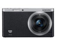 Samsung SMART CAMERA NX Mini Body with 9mm Lens Black /20.5MP,W-iFi,NFC NEW