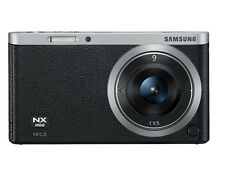 Samsung SMART CAMERA NX Mini Body with 9mm Lens Black /20.5MP,W-iFi,NFC NEW