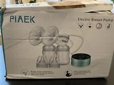 PiAEK Double Electric Breast Pump Rechargeable & Portable Breastfeeding.