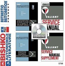 1960 1961 Plymouth Belvedere Shop Service Repair Manual CD Engine Drivetrain OEM