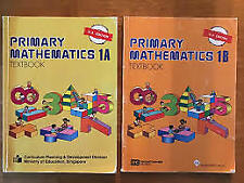 Singapore Primary Math 1A and 1B Texts *No Writing* US Edition