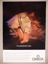 Omega Chronometer Gold Watch PRINT AD - 1969 ~ wristwatch, watches